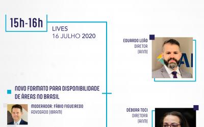 LIVE 16/07/2020 – Novo Formato para Disponibilidade de Áreas no Brasil