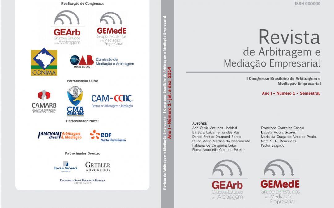 REVISTA DE ARBITRAGEM E MEDIAÇÃO EMPRESARIAL
