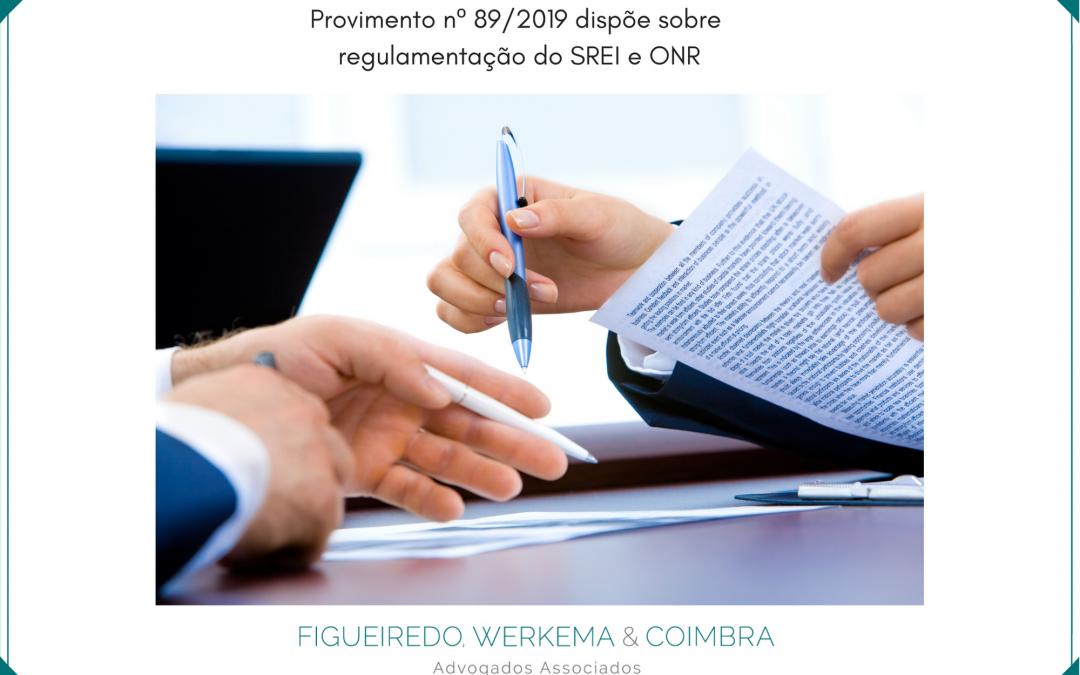 CNM e a publicação do Provimento nº 89/2019