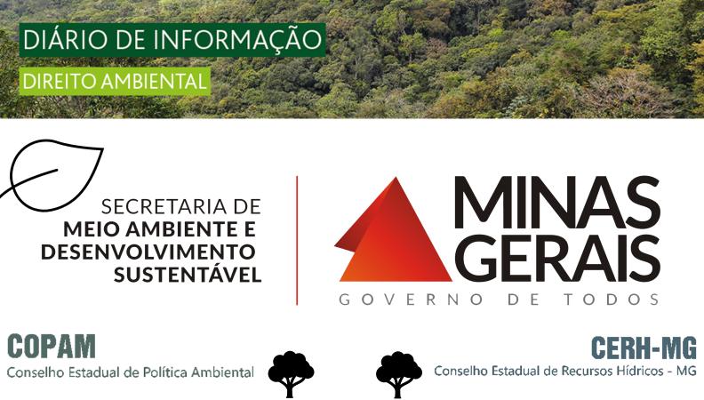SEMAD COMUNICA REUNIÕES VIRTUAIS DO COPAM E CERH-MG