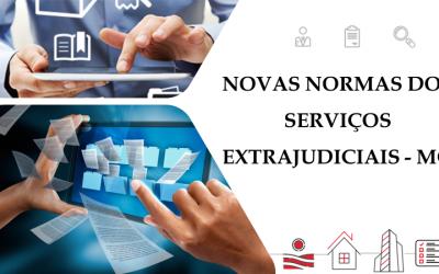 Novo Código de Normas dos Serviços Extrajudiciais do Estado de Minas Gerais entra em vigor hoje!